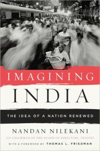Cover of 'Imagining India' by Nandan Nilekani