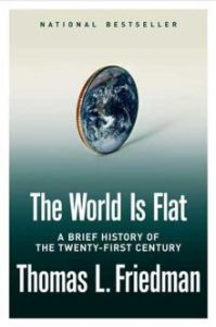 Cover of 'The World Is Flat' by Thomas L. Friedman